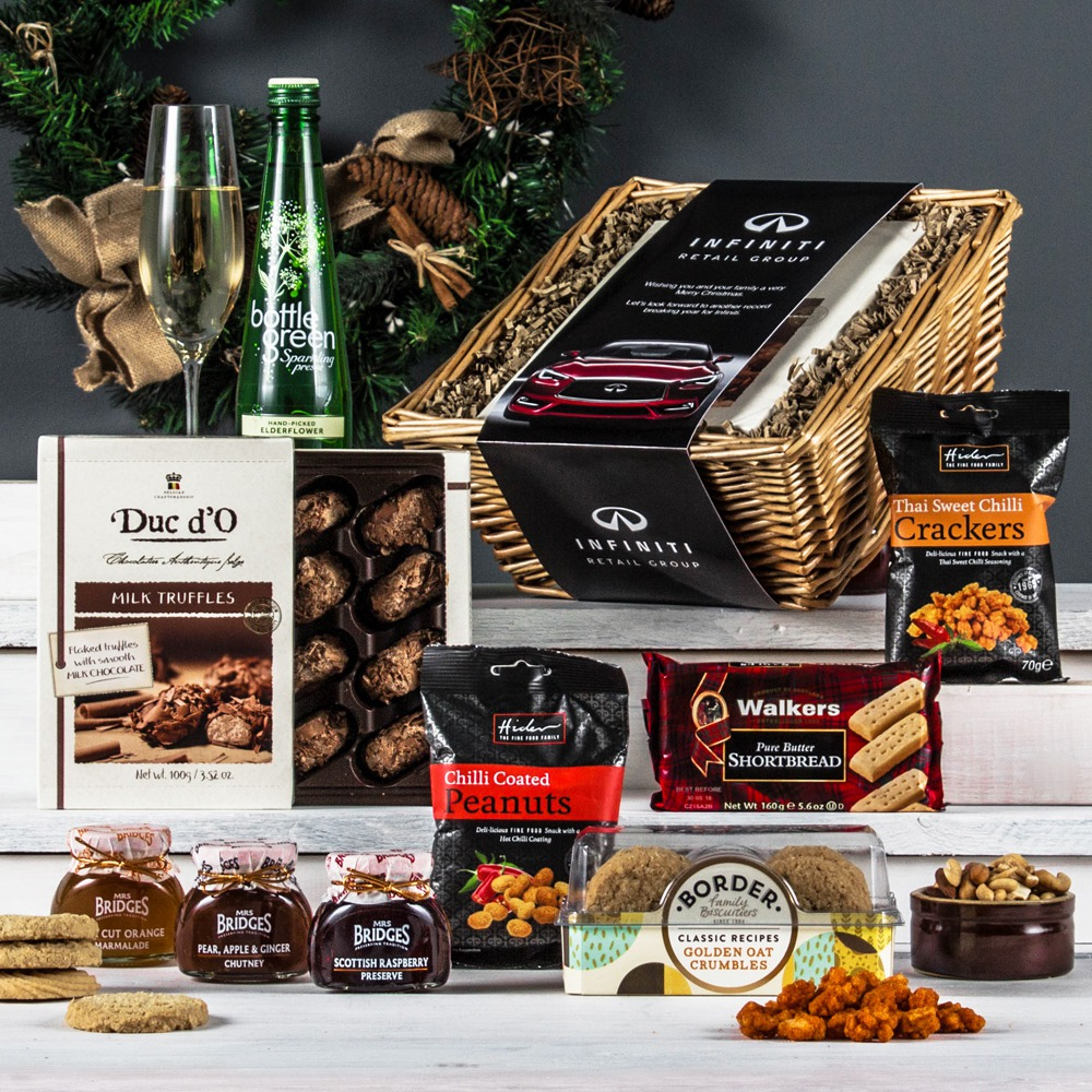 The alcohol free merry christmas hamper peach hampers the alcohol free treat corporate hamper forumfinder Gallery