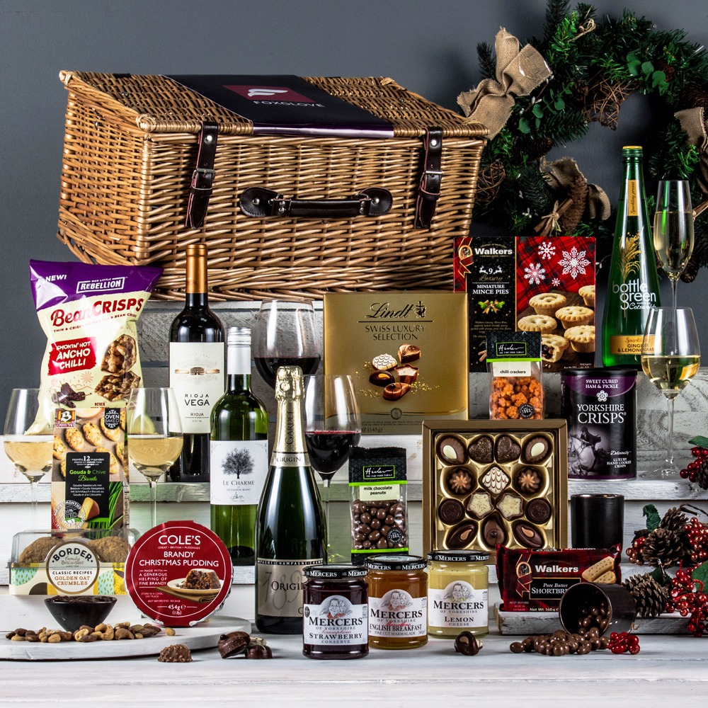 Wedding Gift Hampers Uk: The Gourmet Celebration Christmas Hamper