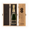 Champagne in an Engraved Wine Box