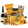 The Festive Delight Hamper with Red Wine