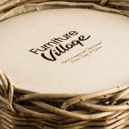 The Alcohol-Free Luxurious Log Basket Corporate Hamper