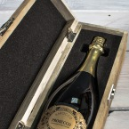 Award Winning Prosecco in an Engraved Wine Box