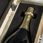 Award Winning Champagne in an Engraved Wine Box