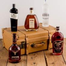The Christmas Vintage Suitcase Spirit Collection