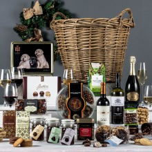 The Luxurious Log Basket Corporate Hamper