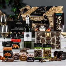 The White Fireside Feast Hamper