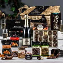 The Champagne Fireside Feast Christmas Hamper