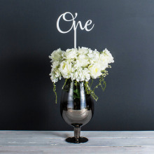Personalised Giant Wedding Table Name or Number (Colour Choice)