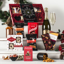 The Festive Delight Hamper with Prosecco