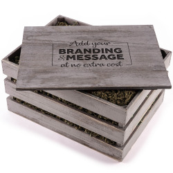 The Sparkling Star Engraved Crate - Alcohol Free