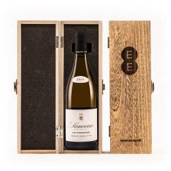 Sancerre, Domaine Thomas in an Engraved Wine Box