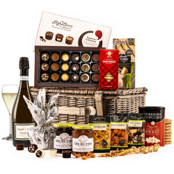 The Christmas Surprise Hamper with Prosecco