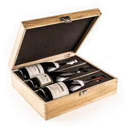 The Three Bottle Premium Corporate Wine Set