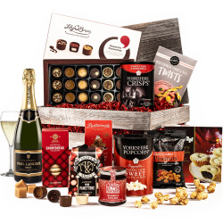The Festive Christmas Crate with Champagne