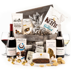 The White Christmas Crate with Wine