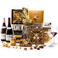 The Simply Delicious Hamper with Wine Duo