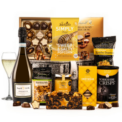 The Gold Star Hamper with Prosecco