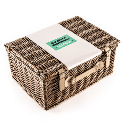 The Surprise Corporate Hamper with White Wine