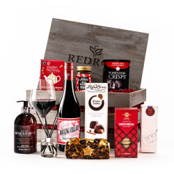 The Luxury New Home Hamper with Red Wine