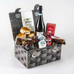 The Afternoon Tea Birthday Hamper with Prosecco