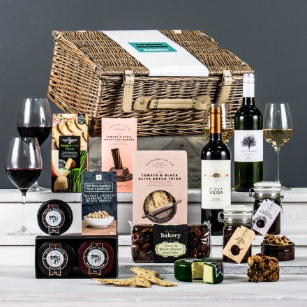 The Connoisseur Cheese & Wine Corporate Hamper