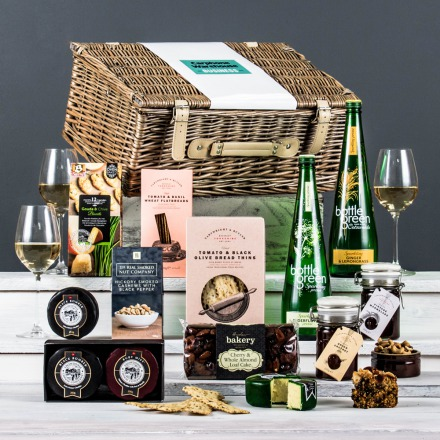 The Alcohol-Free Connoisseur Cheese Corporate Hamper