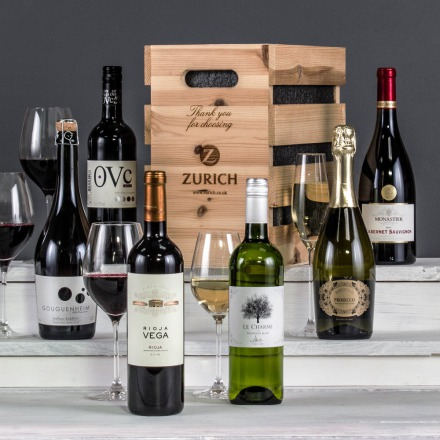 The Six Bottle Christmas Celebration Crate