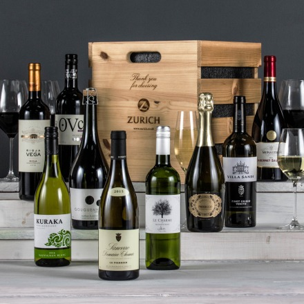 The Nine Bottle Christmas Celebration Crate