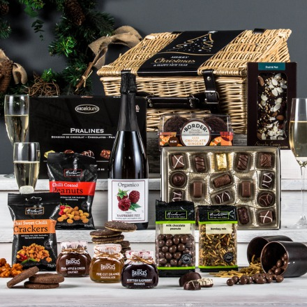 The Alcohol-Free Fireside Feast Hamper