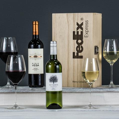 The Premium Duo Corporate Wine Set