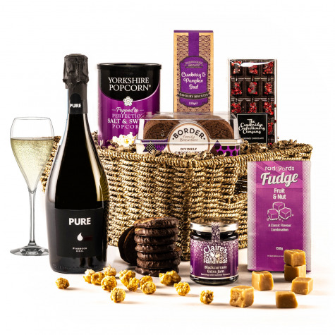 The Violet Sky Christmas Hamper with Prosecco