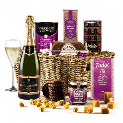 The Violet Sky Christmas Hamper with Champagne