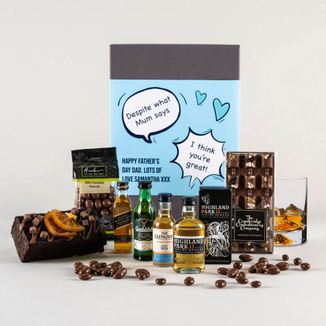The Single Malt Father's Day Whiskey Gift Set