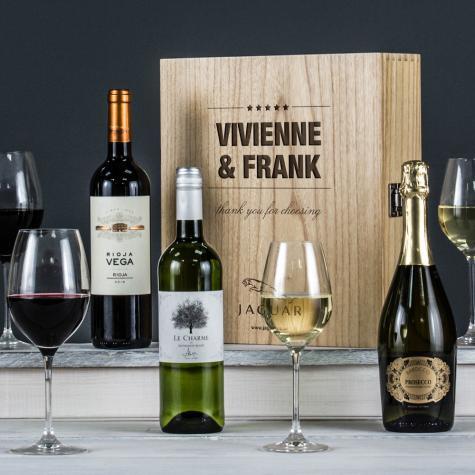 The Three Bottle Premium Corporate Wine Set