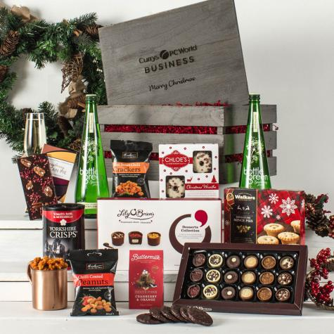 The Festive Crate Alcohol Free Corporate Hamper