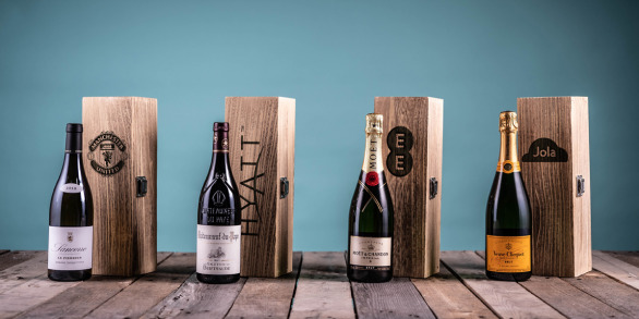 Premium Single Engraved Wine Boxes