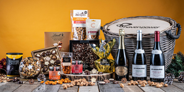 The Golden Log Basket Corporate Hamper