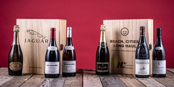 The Three Bottle Corporate Wine Sets