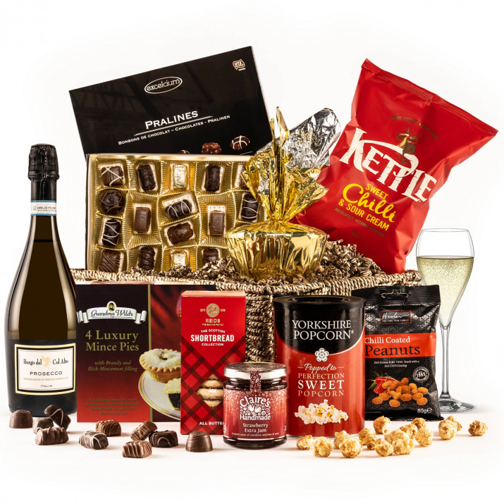 The Taste of Christmas Hamper with Prosecco