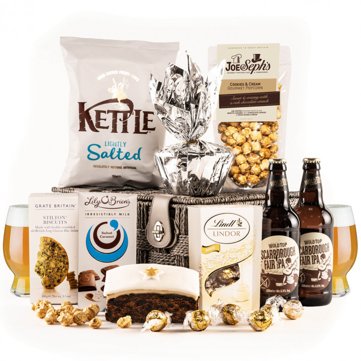 The Snow White Hamper with Real Ale