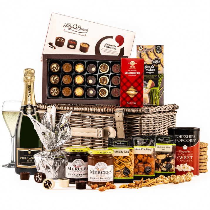 The Christmas Surprise Hamper with Champagne