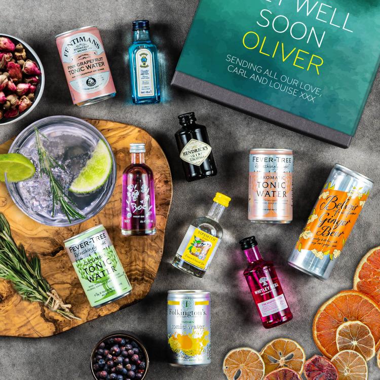 The Gin-Tastic Gift Set   Peach Hampers
